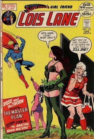 Lois Lane comic book covers    Superman's Girl Friend Lois Lane #121 comic books for sale
