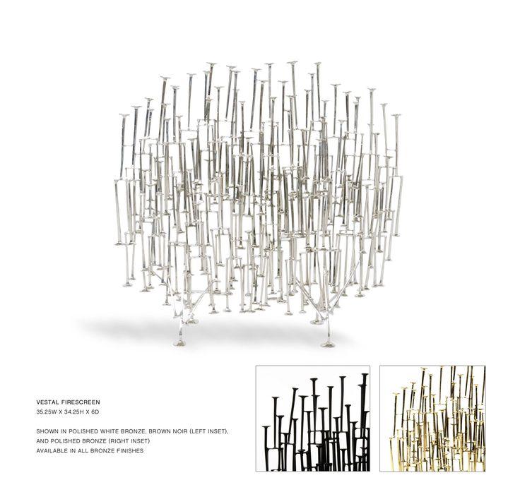 John Lyle Design - VESTAL FIRE SCREEN