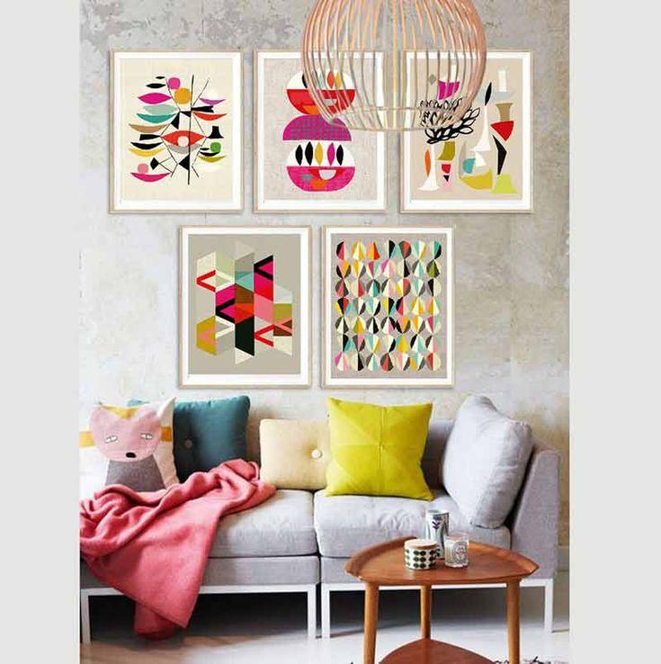 Las 25 mejores ideas sobre decoraci n del hogar hippie en - Cuadros para decorar salones ...