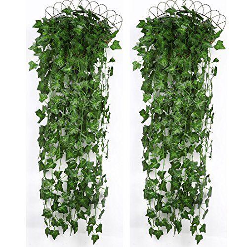 Luyue Artificial Plants Greeny Ivy Vine Wall Hanging Leav... https://www.amazon.com/dp/B01M4GBZIL/ref=cm_sw_r_pi_dp_x_u6PBybJ8N6NPW