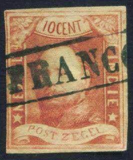 Perangko Pertama di Indonesia 1846