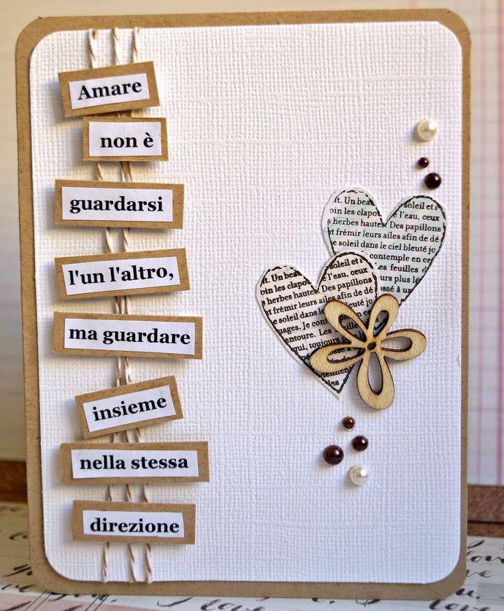 Mi riaffaccio al blog per postare la card di matrimonio che ho realizzato per la sfida di agosto per scrapdreams. Idea rubata da pinterest ...