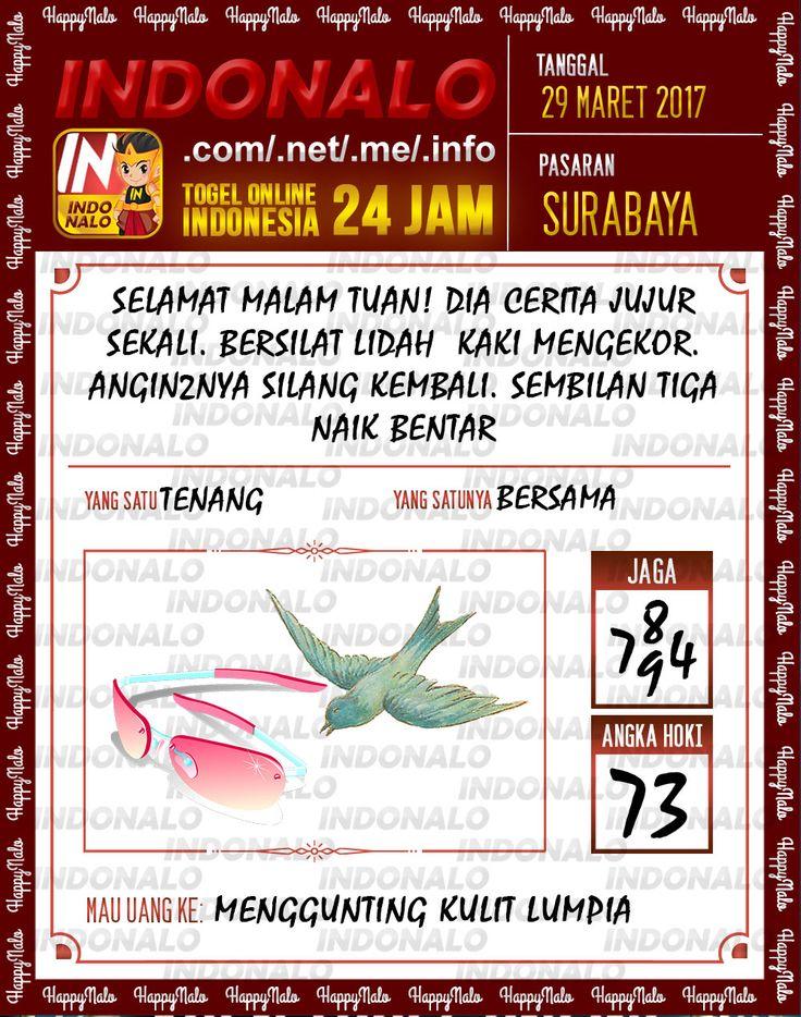 Kode Mistik 6D Togel Wap Online Indonalo Surabaya 29 Maret 2017