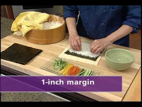 There are as many versions of sushi that can be imagined, but the rolled sushi is one of the more popular forms. Kikkoman has a very good step-by-step video on the basics of making a sushi roll.