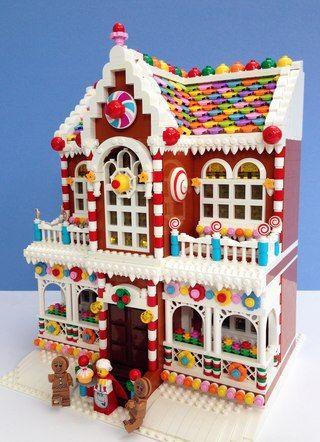 """""""Вкусный пряничный домик из Лего"""""""