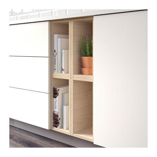 TUTEMO Otevřená skříňka - jasan, 20x37x40 cm - IKEA