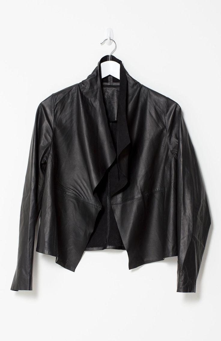 Elk Fine Black Leather Jacket | Elk #WITCHERYSTYLE