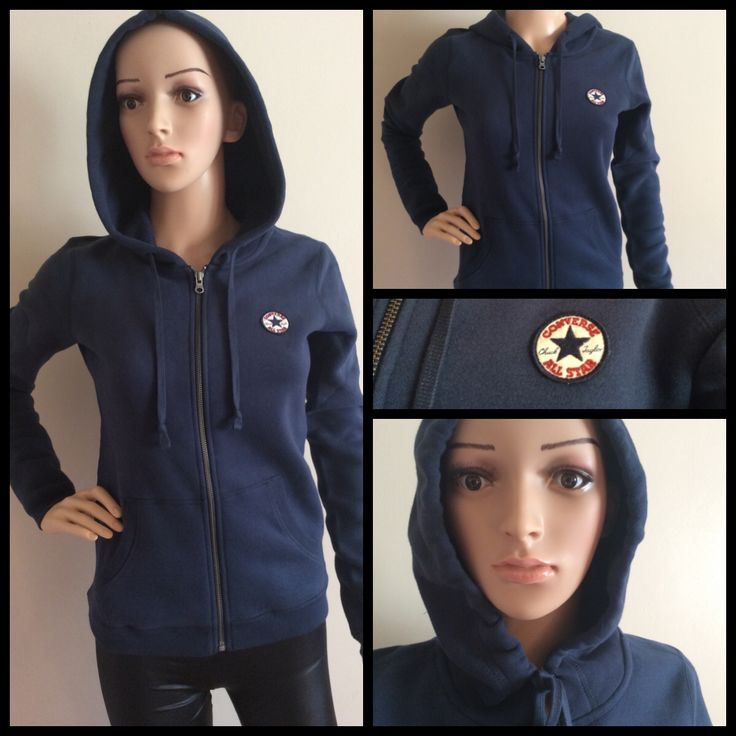 Look the part in this Converse Hoodie