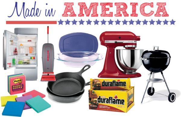 Did You Know These Household Items Were Still Made in America?