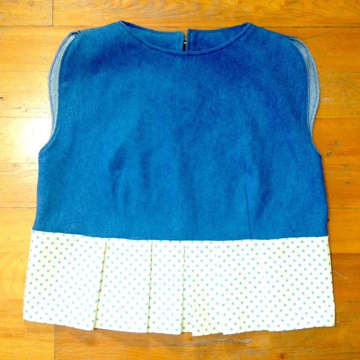 """From """"I Love Tops"""" circle sleeve tank. #homemade #craft"""