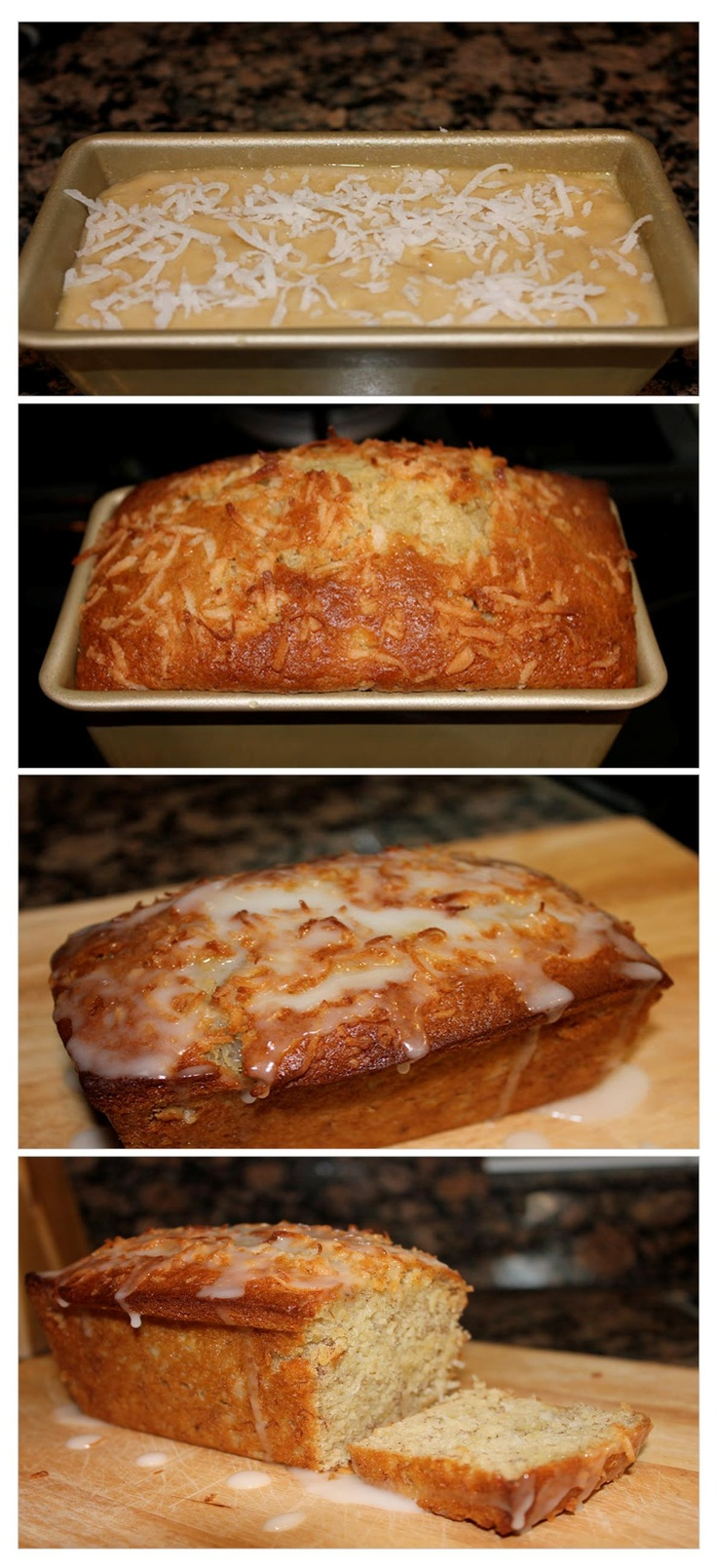 glazed key lime bread recipes dishmaps toasted coconut and key lime ...