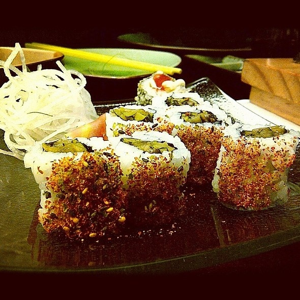 Mushroom Sushi at Sushi Groove by Bebekrocks (FoodSpotting)