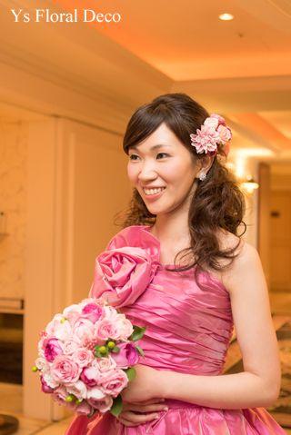 9月にウェスティンホテル東京さんで挙式ご披露宴の新婦さんより、当日のお写真をいただきましたので、ご紹介します。わぁぁ、とっても素敵!まるで映画のワンシーン...