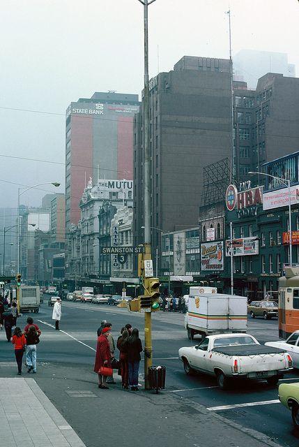 Cnr Flinders & Swanston Sts #Melbourne #heritage 1978