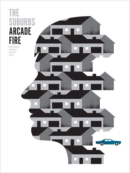 Arcade Fire's - The Suburbs