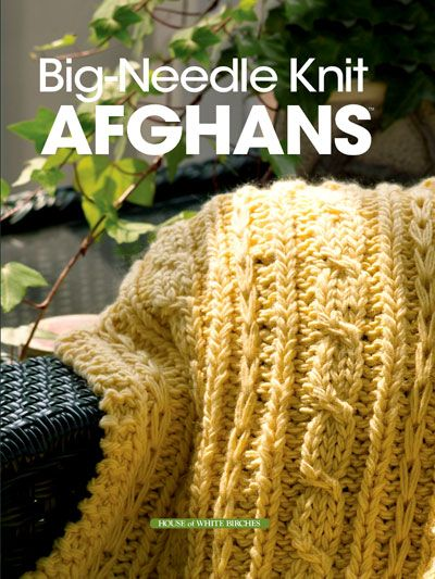 Knit Blanket Pattern Size 13 Needles : Youll love #knitting afghans on big needles -- its quick ...