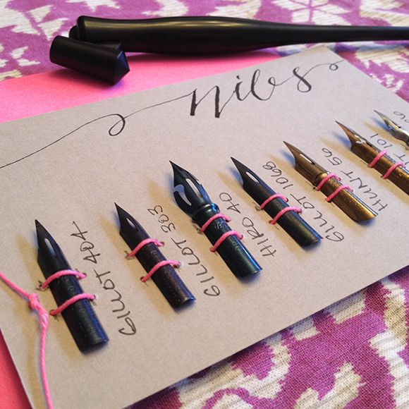 Calligraphy Nib Sets | you, me & emily