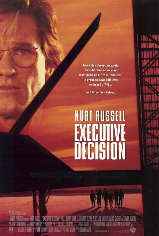 Halle Berry played the role of a Flight Attendant named Jean in the movie Executive Decision (1996)