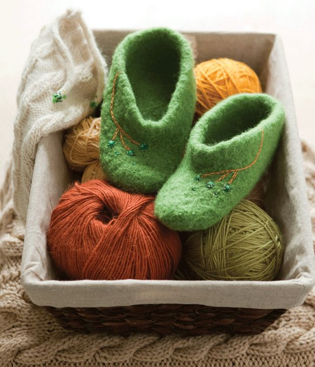 125 Best Knitting Bags Socks And Slippers Adult Images On