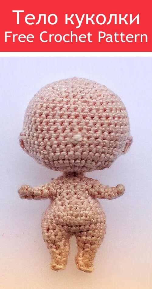 Amigurumi Doll Free Pattern | Giocattoli all'uncinetto, Bambole di ... | 950x500