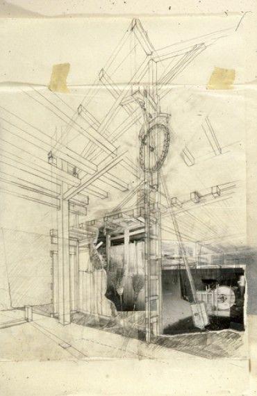 Shin Egashira drawing