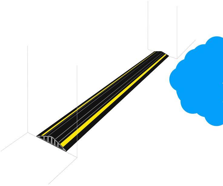 Garage Door Flood Barrier Kit (40mm High) | Garadry