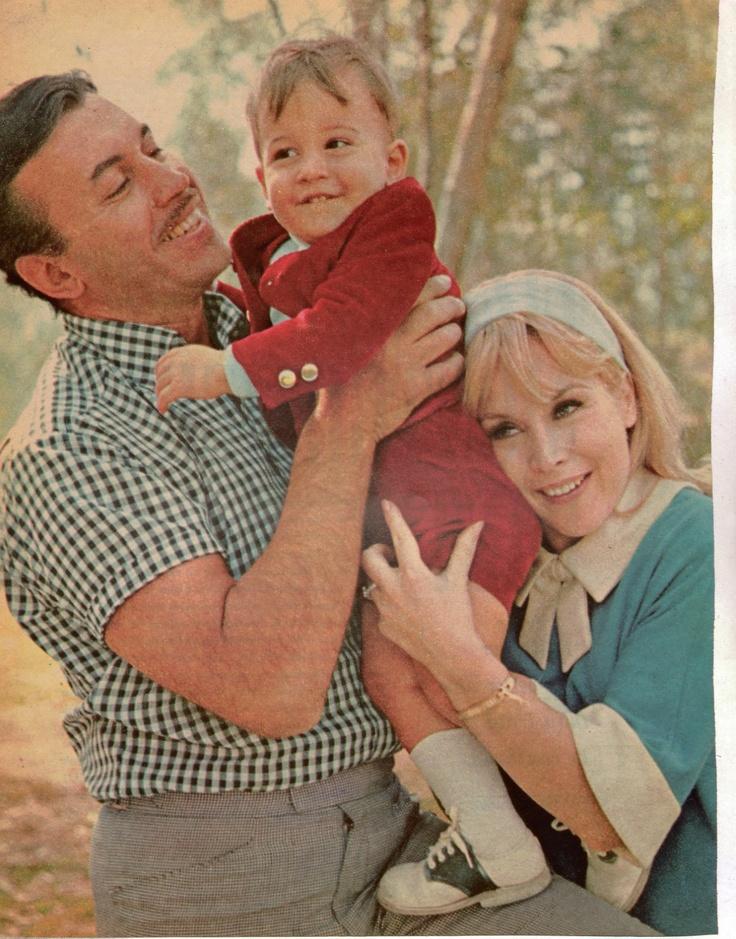 Barbara Eden, husband Michael Ansara and son Matthew