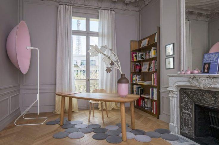 El arte de vivir a los pies de la torre Eiffel #Hometour #decoración #Paris #TorreEiffel #Trocadero #tendencia #interiorismo #diseño