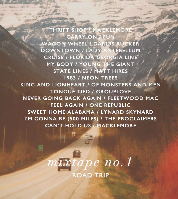 road trip playlist                                                                                                                                                      More