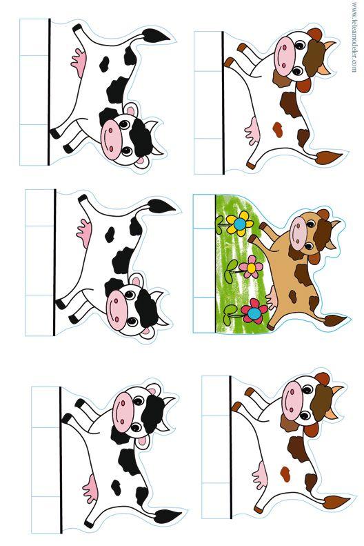 Jeu de la ferme : les vaches