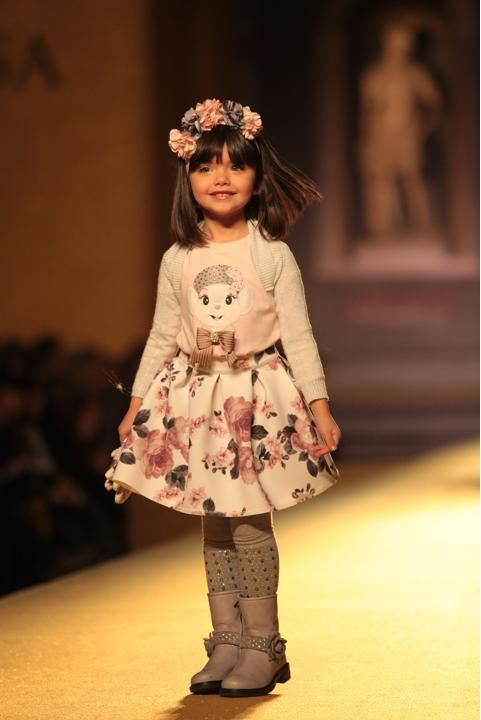 Kids Fashion Show 2014 MONNALISA Fashion show Fall
