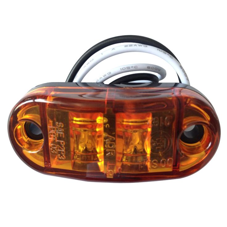 ==> [Free Shipping] Buy Best 10 Amber Side Marker LED Light For Cars Trucks Trailers Clearance Lamp 12V Online with LOWEST Price   32789608901