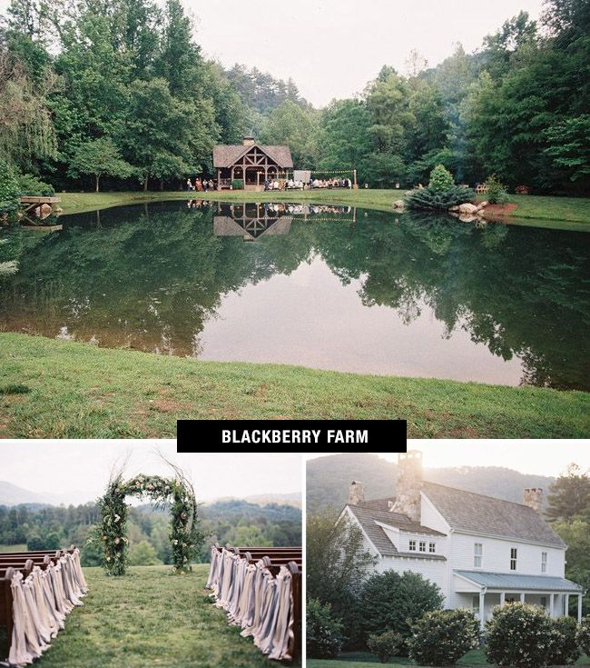 Blackberry Farm Wedding | Coolest Wedding Venues in the US