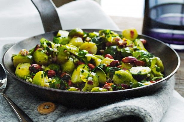 Anyone who doesn't love Brussels sprouts will change their mind after tasting them in this recipe.