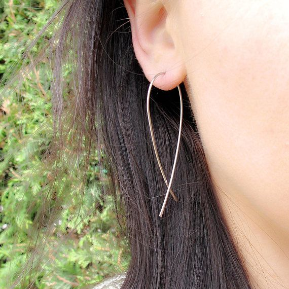 Hoop earrings stainless steel earrings  316L  large hoops