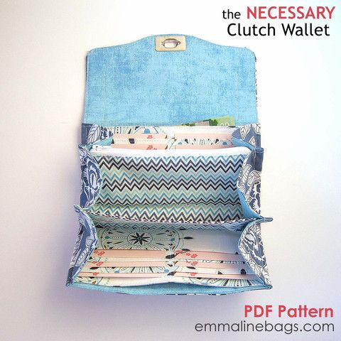 The Necessary Clutch Wallet PDF