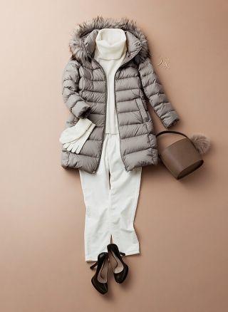 ダウンコートで楽しむ真冬のシーン別コーディネート|Today's Pick Up|ユニクロ