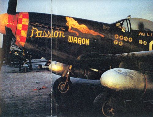 "P-51 "" PASSION WAGON """