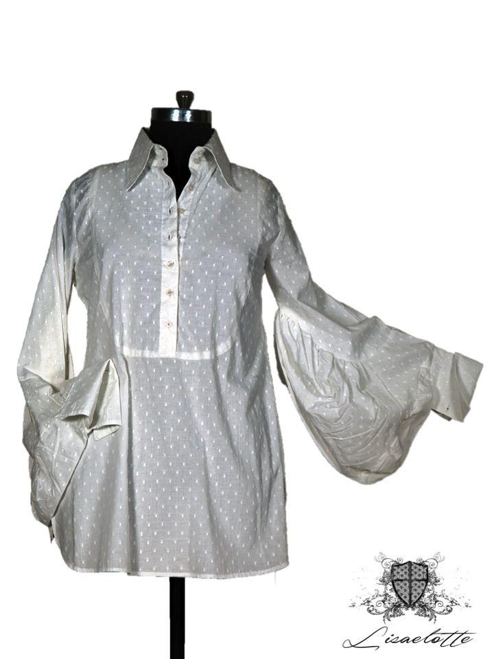 White Cotton Shirt #Cotton #Shirts #WomensClothing #Lisaelotte