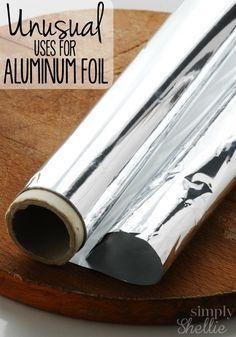 10 Unusual Uses for Aluminum Foil