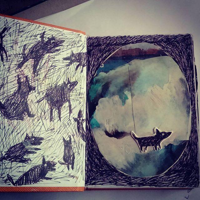 Şiva 'nın anı defteri #Şiva #animals #diary #childrenbook #günce #artdrawing #art #sketchbook
