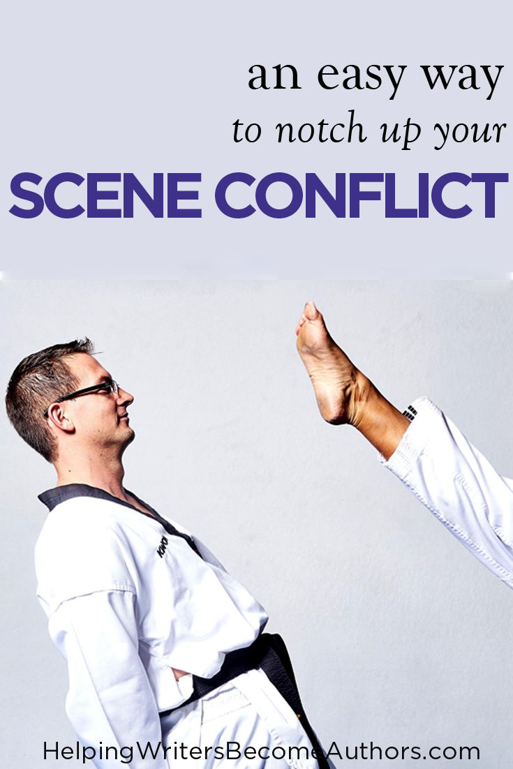 An Easy Way To Notch Up Your Scene Conflict