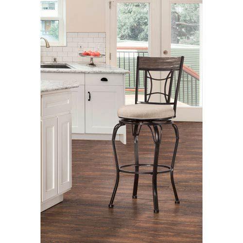 Indoor / Outdoor Kent Swivel Counter Stool