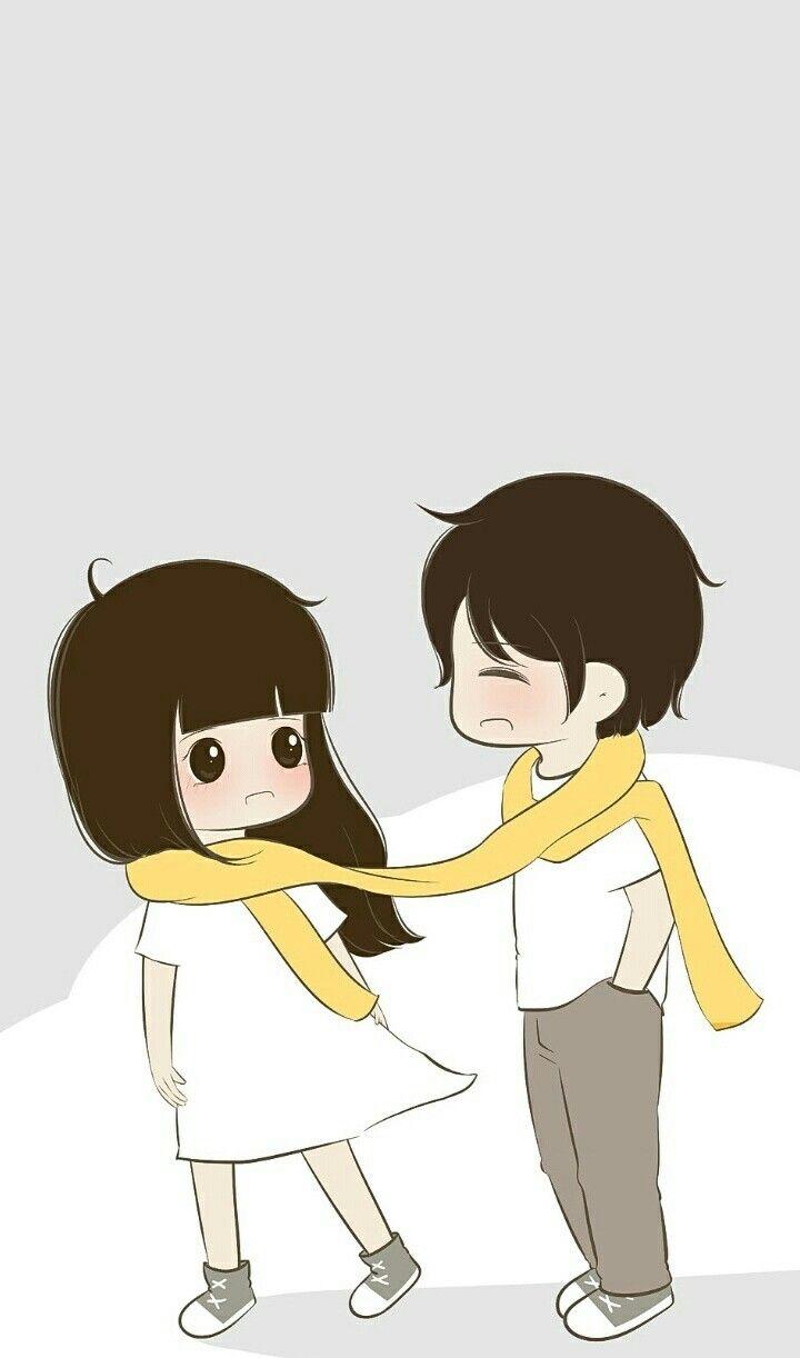 Follow Me On Instagram Imkomal06 Cute Love Cartoons Cute Couple Wallpaper Cute Love Gif