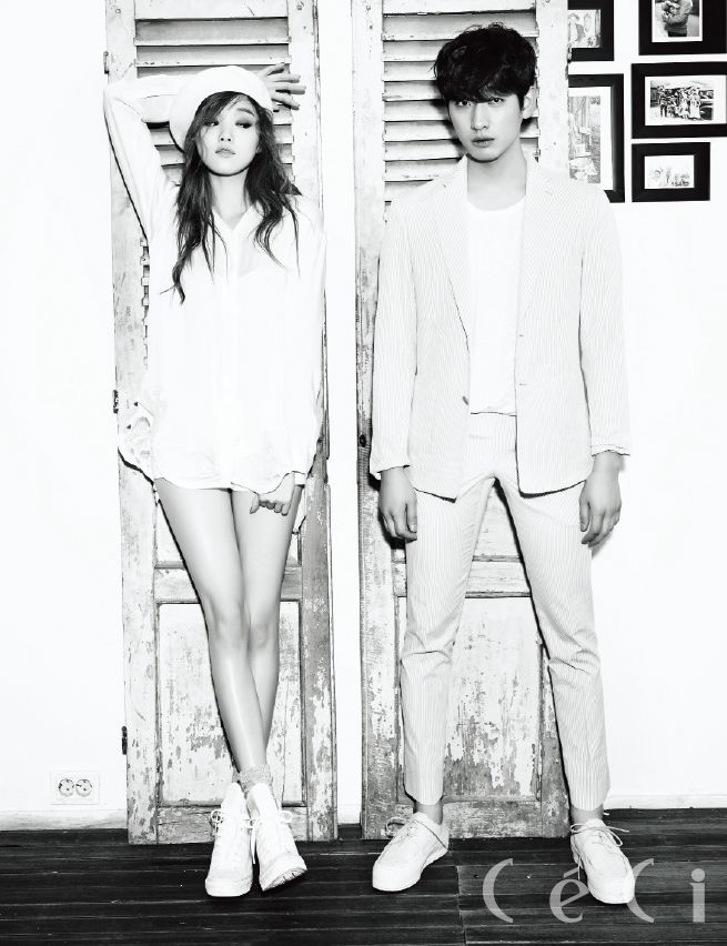 LEE SUNG KYUNG x YOON PARK | CECI MAGAZINE FEBRUARY '15 ISSUE
