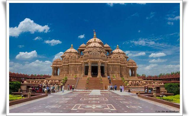 Viagens e Beleza: Akshardham, o  maior templo hindu do mundo!