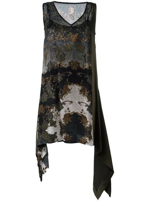 ANTONIO MARRAS devore paisley dress. #antoniomarras #cloth #佩斯里图案连衣裙