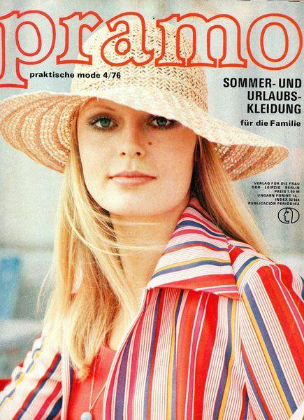 Pramo DDR Mode Zeitschrift #ddrmuseum