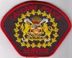 Canada: Calgary Police Patch