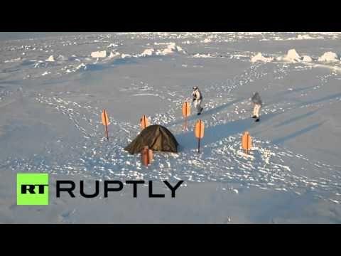 Arctic: Drone e GoPro capturam forças especiais chechenas em exercícios militares - YouTube
